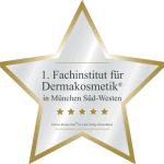 Zertifikat Fachinstitut für Dermakosmetik im Kosmetikstudio Sendling