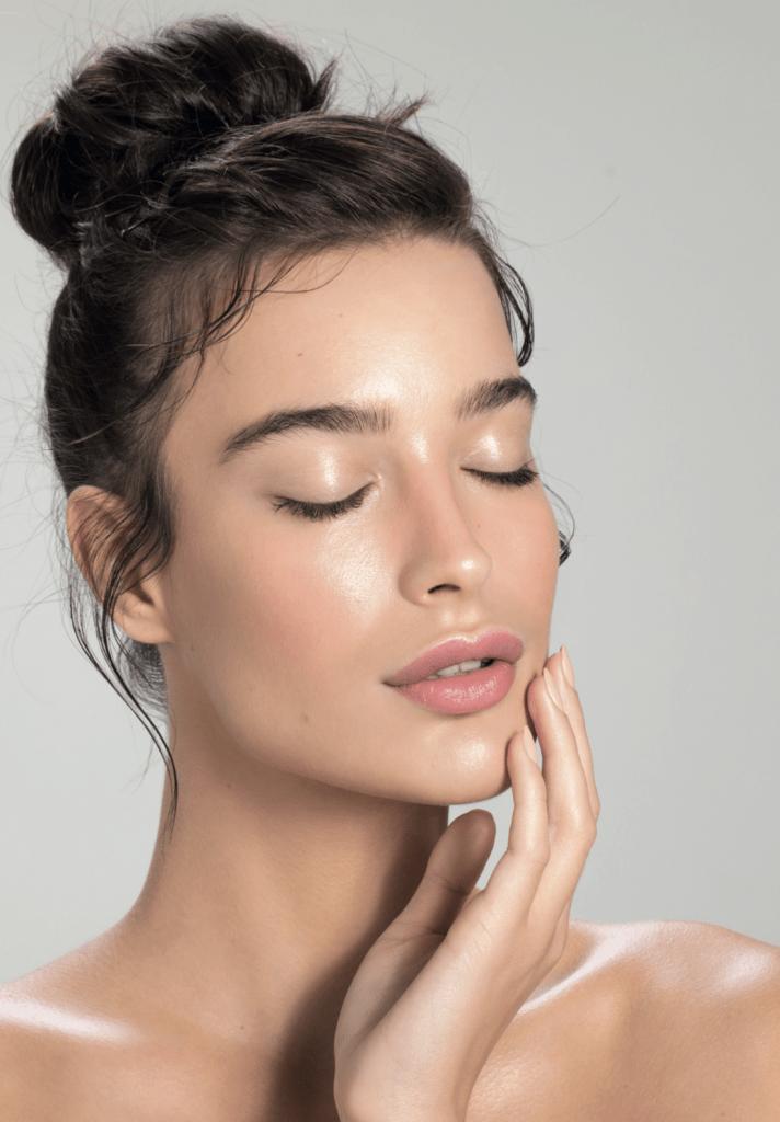 GlowSolution Anwendung im Kosmetikstudio Sendling